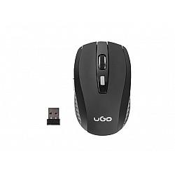 Безжична мишка uGo Mouse MY-03 optical 1800DPI, Black