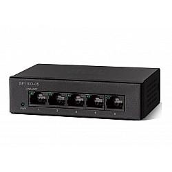 Суич Cisco SF110D-05 5-Port 10/100 Desktop Switch